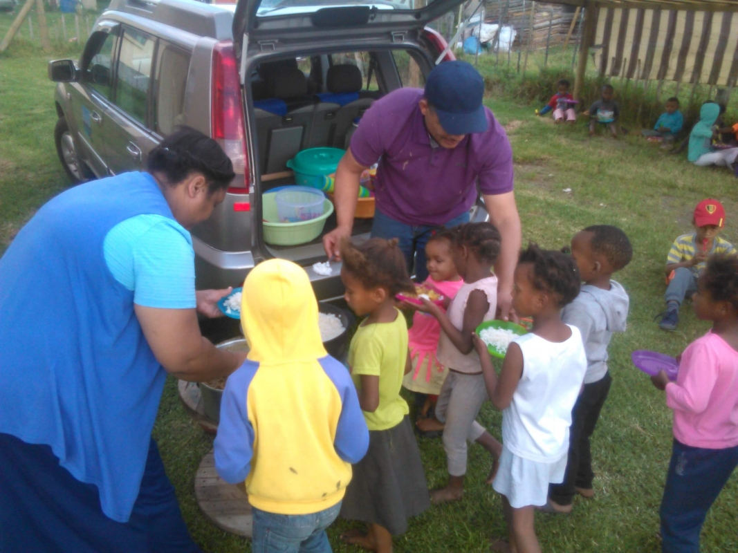 Joy Children Foundation in de Eastern Cape,Zuid-Afrika